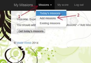 1 tutorial mission add
